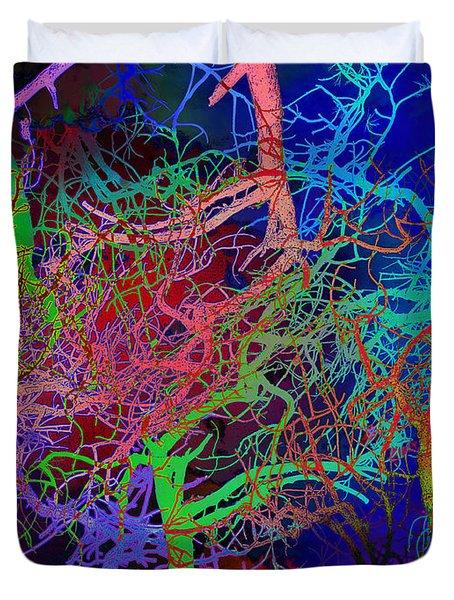 Glorious Bare Trees Duvet Cover