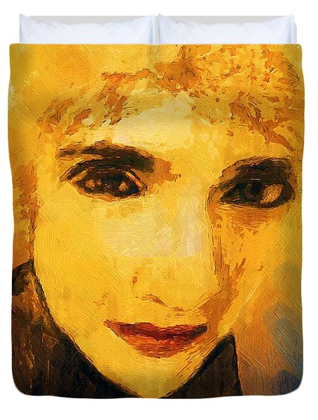 Glorious Crone Duvet Cover by RC deWinter