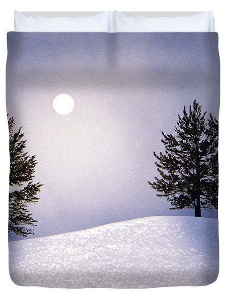 Glorious Night Duvet Cover by Frank Wilson