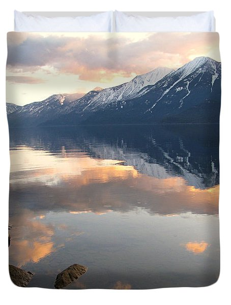 Glorious Sunset Duvet Cover by Leone Lund