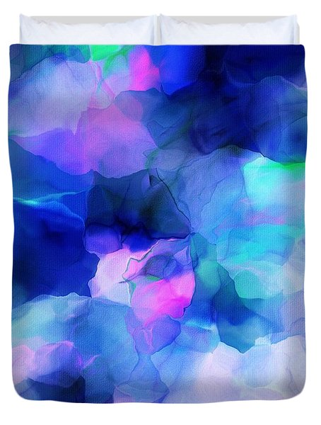 Duvet Cover featuring the digital art Glory Morning by David Lane