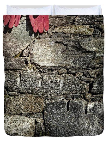 Gloves Duvet Cover by Joana Kruse