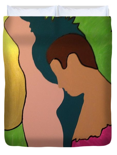 Glow Duvet Cover by Erika Chamberlin