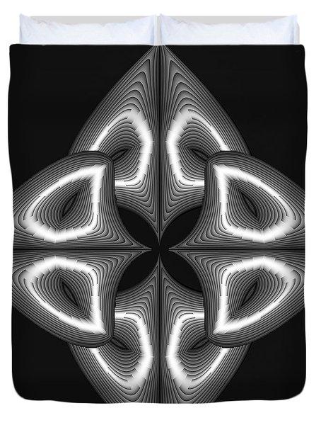 Glow In Darkness Duvet Cover