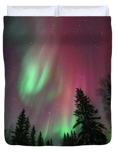 Glowing Skies Duvet Cover
