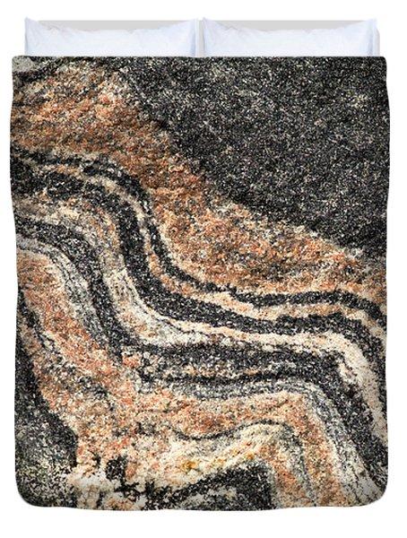 Gneiss Rock  Duvet Cover