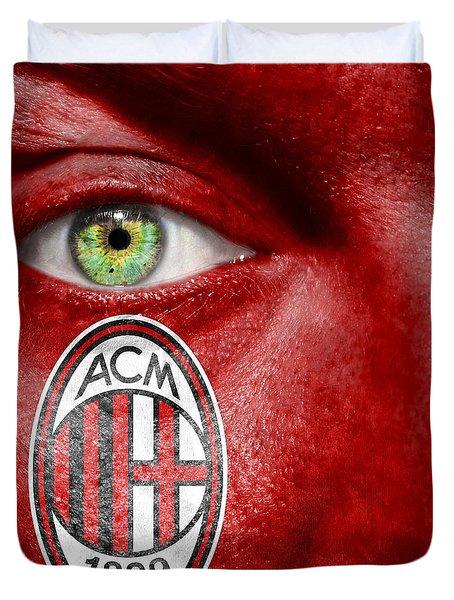 Go Ac Milan Duvet Cover by Semmick Photo