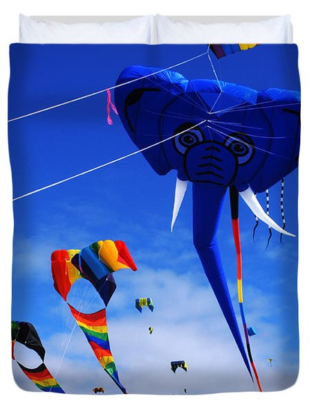 Go Fly A Kite 5 Duvet Cover