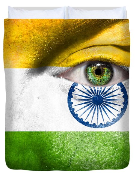 Go India Duvet Cover by Semmick Photo