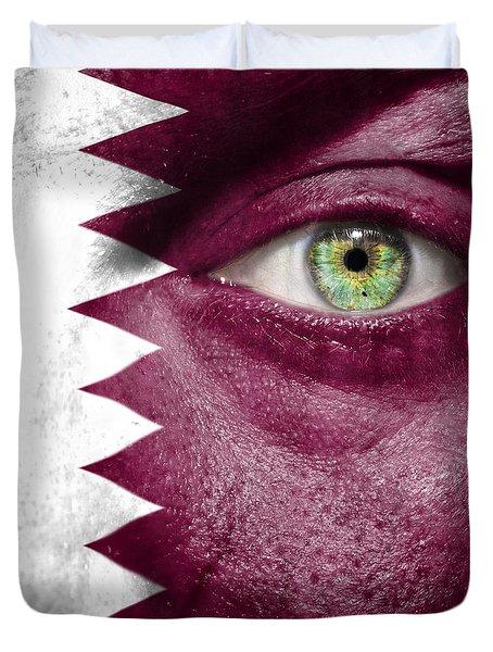 Go Qatar Duvet Cover by Semmick Photo