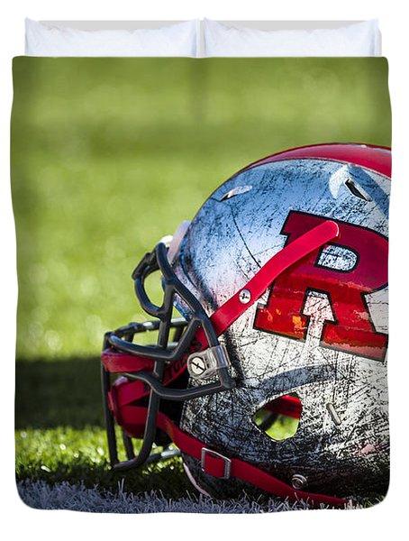 Go Rutgers Duvet Cover