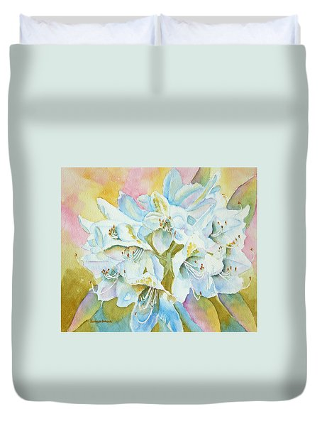 Go With The Glow Duvet Cover by Kathryn Duncan