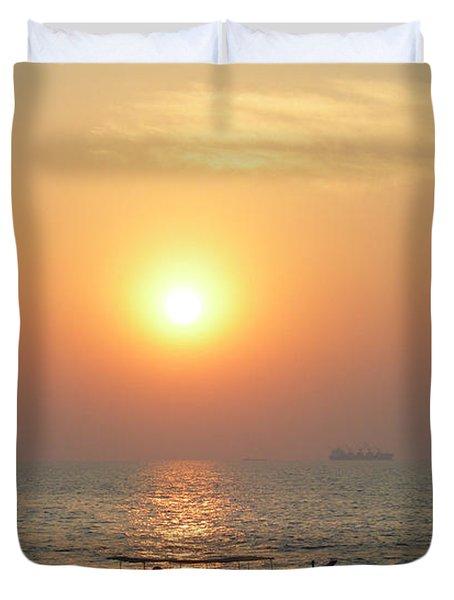 Goa Sunset Duvet Cover
