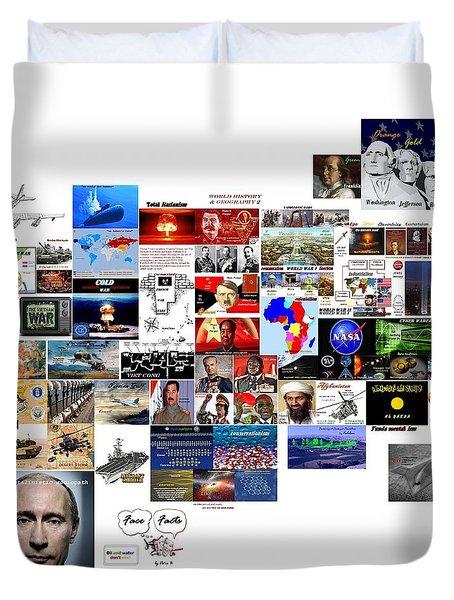 Goal Post Putin Duvet Cover