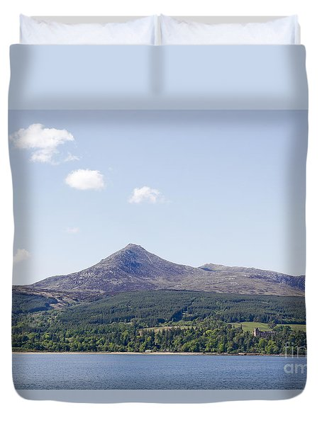 Goat Fell Isle Of Arran Scotland Duvet Cover