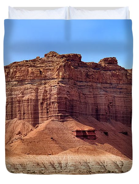 Goblin Valley Pano 2 Duvet Cover