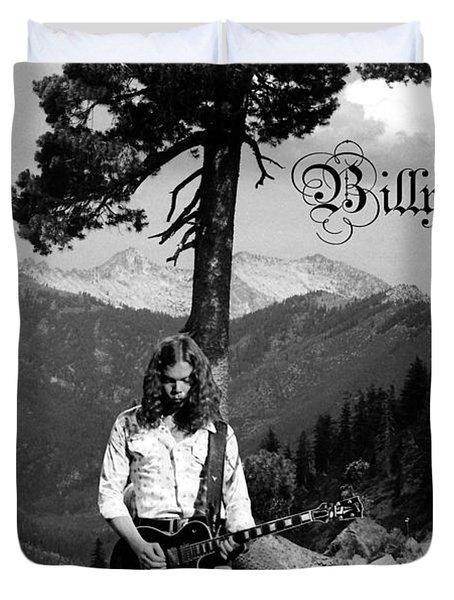 God Bless Billy Jones Duvet Cover