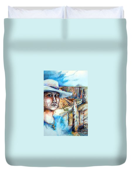 God Duvet Cover