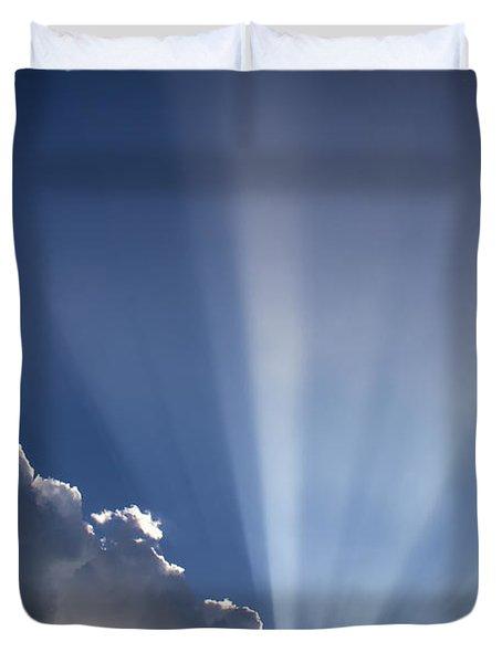God Rays Duvet Cover