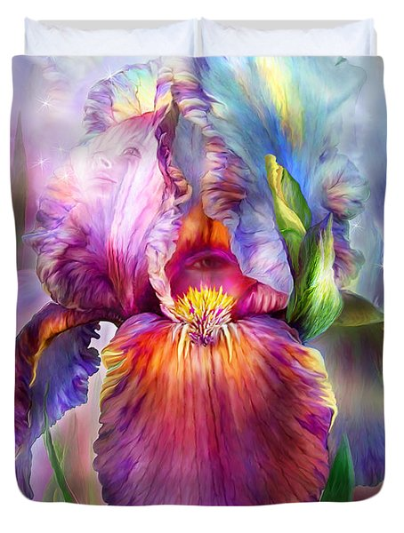 Goddess Of Healing Duvet Cover