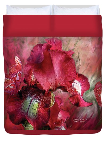 Goddess Of Passion Duvet Cover