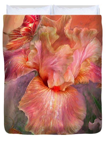 Goddess Of Spring Duvet Cover