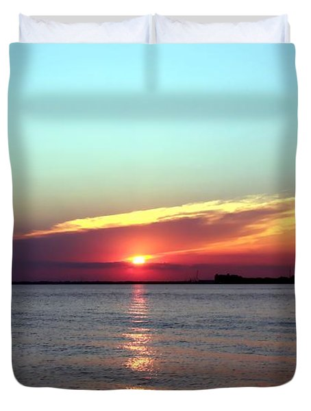 Duvet Cover featuring the photograph Gods Creation by Debra Forand