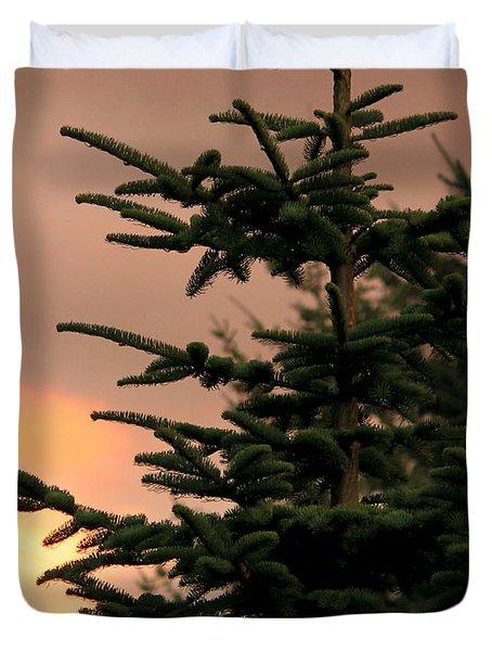 God's Gift Duvet Cover by Jeanette C Landstrom
