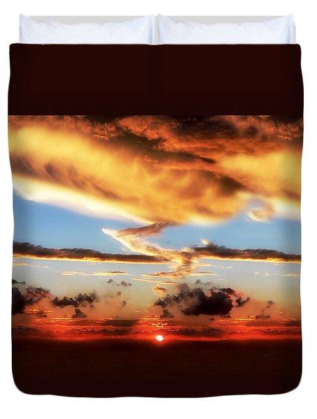 God's Heaven Duvet Cover