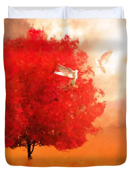 God's Love Duvet Cover
