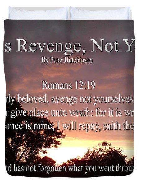 Gods Revenge Duvet Cover