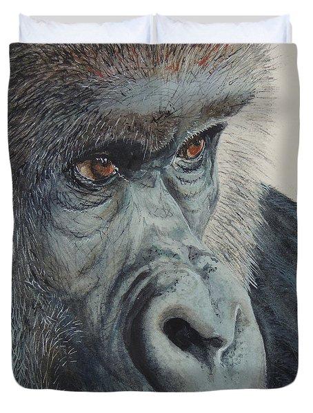 Going Ape...sold  Duvet Cover