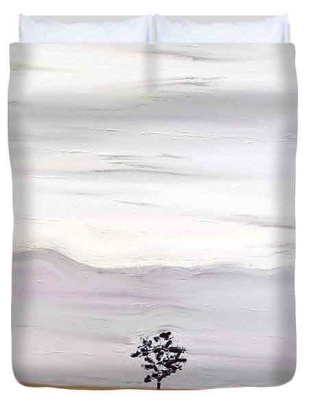 Going Home Duvet Cover by Lenore Senior
