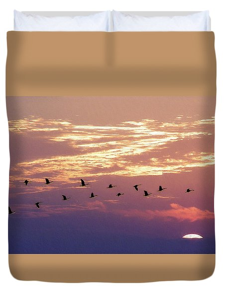 Going North Duvet Cover
