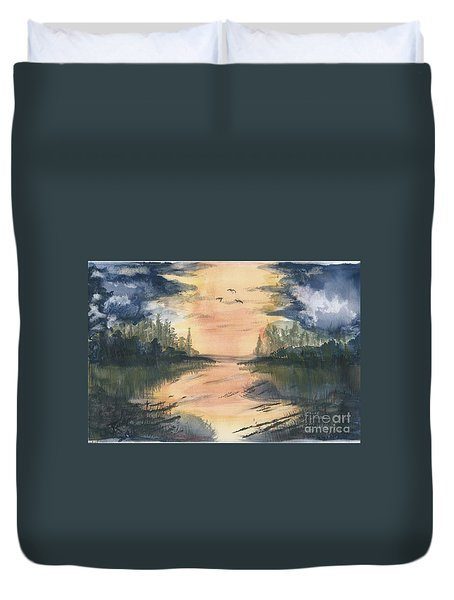 Going South  Duvet Cover