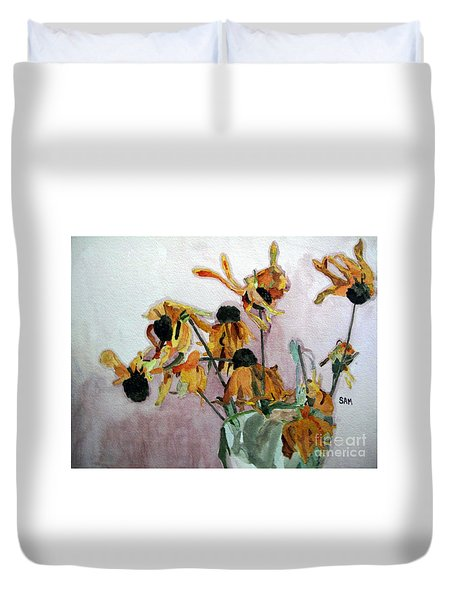 Going To Seed Duvet Cover