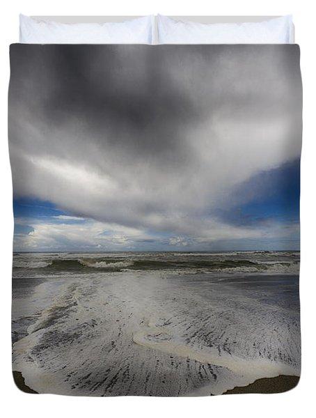 Gold Bluffs Beach 1 Duvet Cover