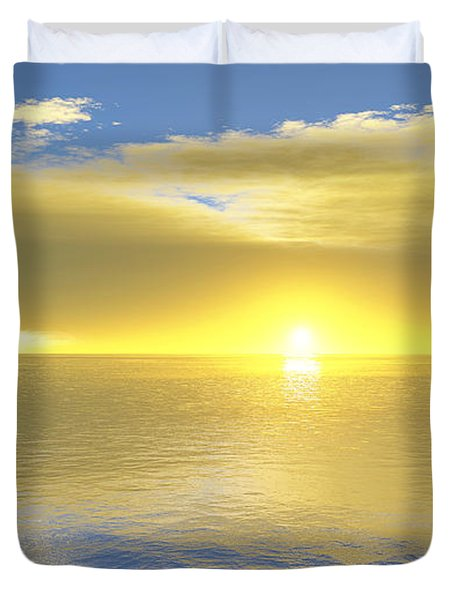 Gold Coast Duvet Cover by Mark Greenberg