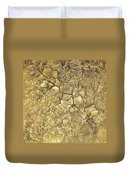 Gold Fever 1 Duvet Cover