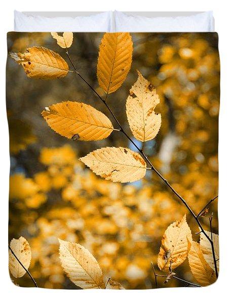 Golden Brown Duvet Cover