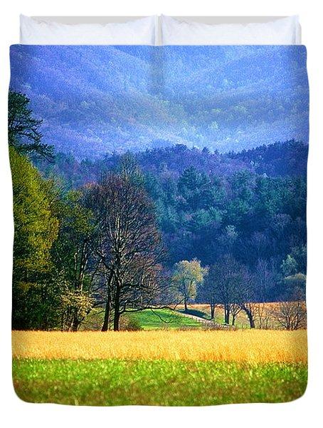 Golden Day Duvet Cover