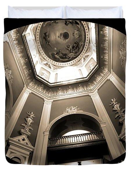 Golden Dome Ceiling Duvet Cover