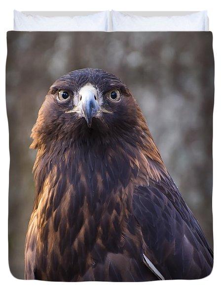 Golden Eagle 4 Duvet Cover