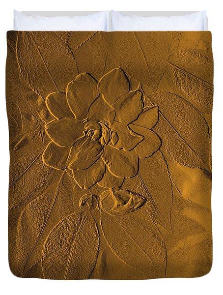 Golden Effulgence Duvet Cover