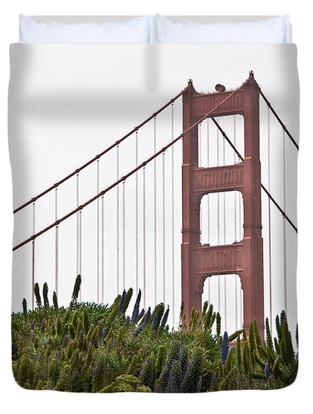 Golden Gate Bridge 1 Duvet Cover