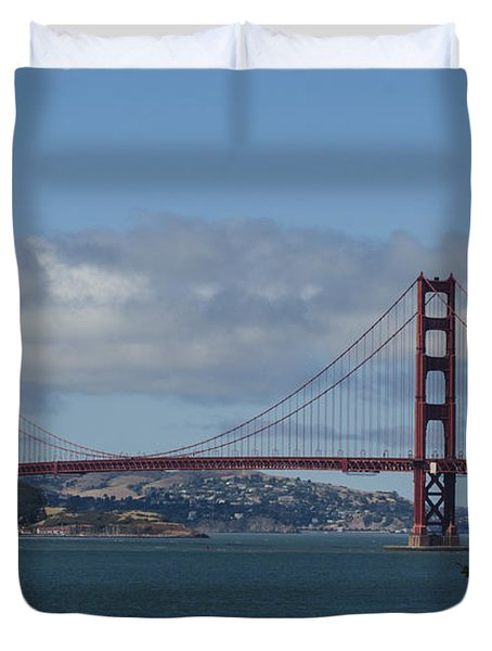 Golden Gate Bridge 2 Duvet Cover