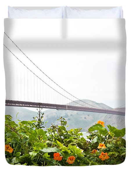 Golden Gate Bridge 2 Duvet Cover
