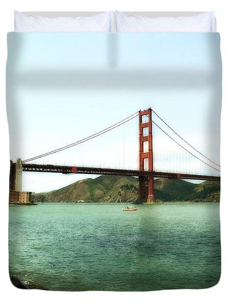 Golden Gate Bridge 2.0 Duvet Cover