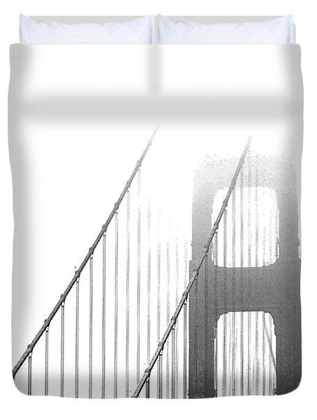 Golden Gate Bridge Duvet Cover
