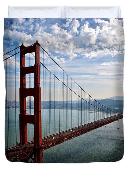 Golden Gate Open Duvet Cover